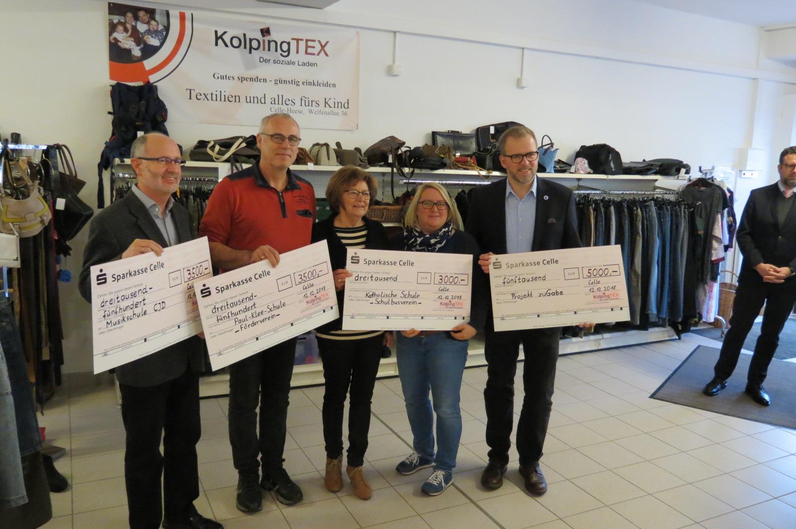 Ehrenamt ermöglicht 17000 Euro Spenden